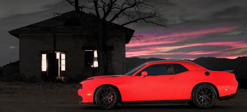 Illustration for article titled Who Could Be Villainous Enough To Sell A Hellcat?