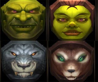 Illustration for article titled New WoW Races Hinted At By Halloween Masks?