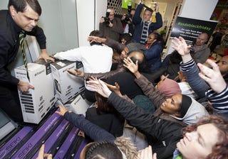 Holiday Shopping Frenzy. Photo: AP