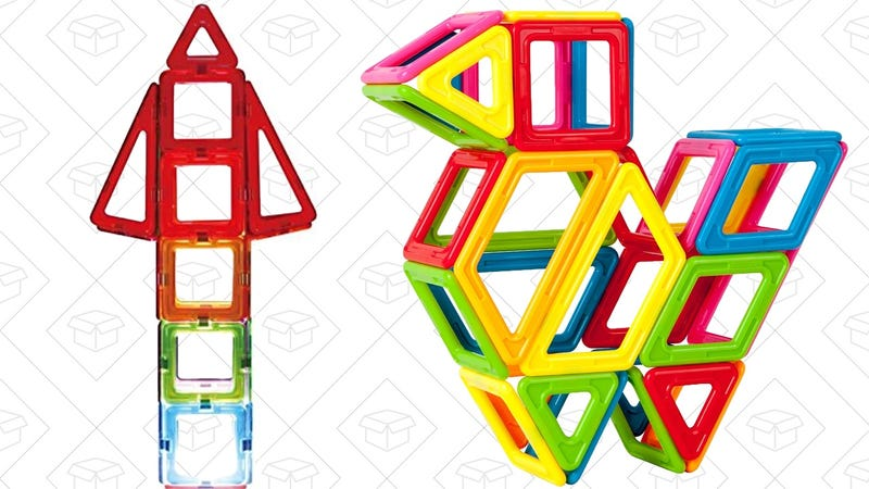 Magformers Magnetic Building Blocks Gold Box