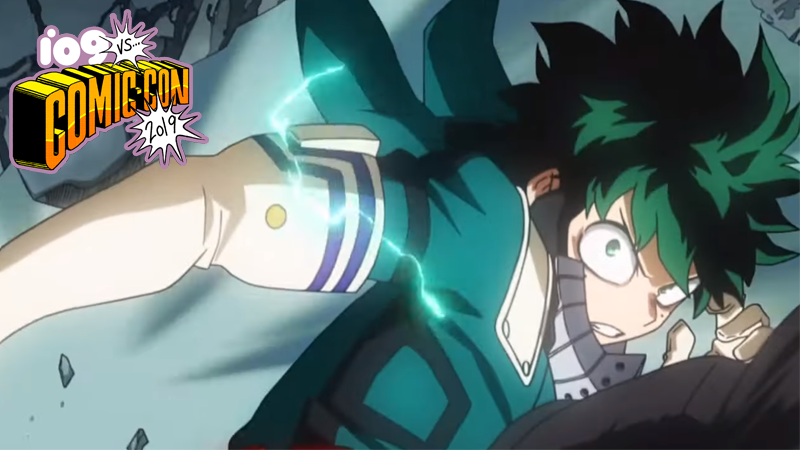 Get your shoot style on, because you'll get a kick out of this new My Hero trailer.