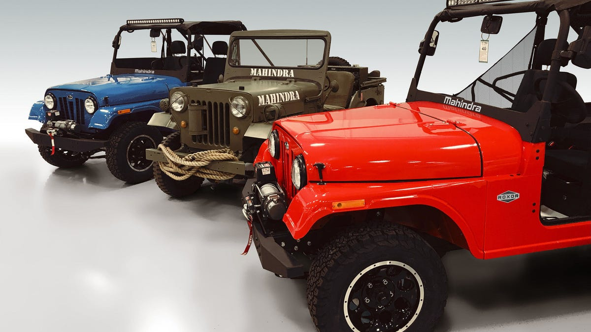 The Mahindra Roxor Is A Tiny Offroad Jeep That You Can Totally Buy
