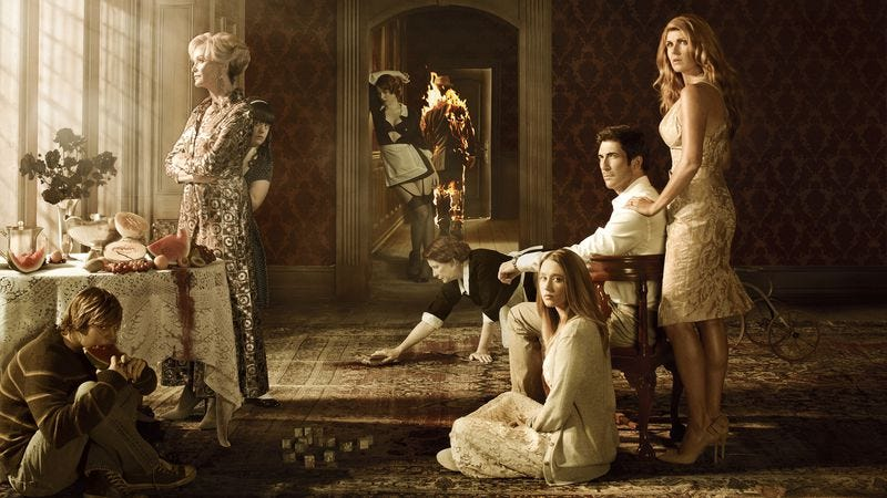 Illustration for article titled Ryan Murphy confirms that all of the American Horror Story seasons are connected