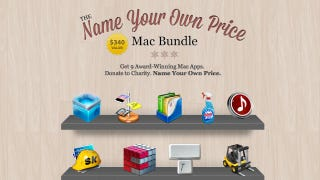 Illustration for article titled Name Your Own Price for $340 Worth of Mac Apps, a Portion Goes to Charity