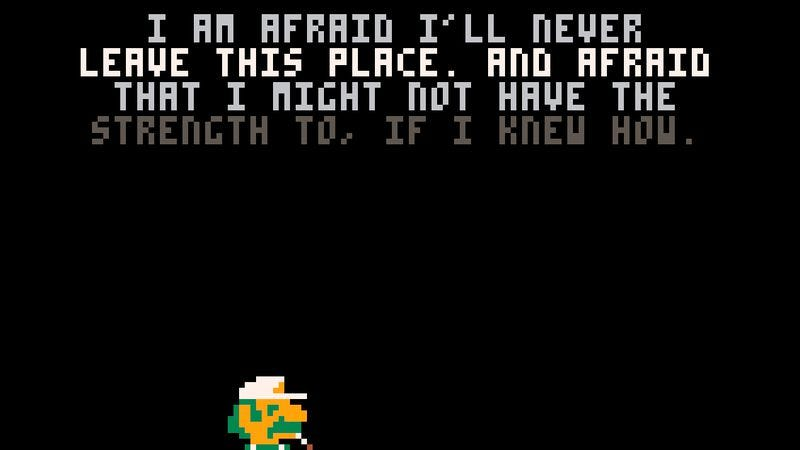 One of the Mario Bros. has an existential crisis in the new game Ennuigi