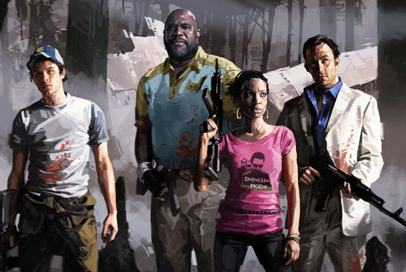Illustration for article titled How Did Depeche Mode Find Its Way Into Left 4 Dead 2?