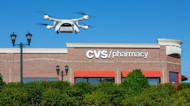 CVS and UPS Now Delivering Prescription Drugs Via Drone in Florida
