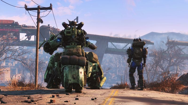 Fallout 4's first add-on, Automatron, will let players build robot buddies