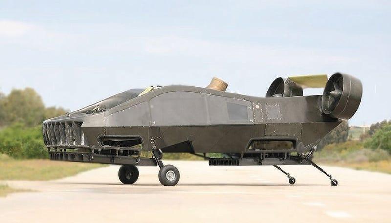 Illustration for article titled Este dron israelí puede ser el futuro del transporte aéreo