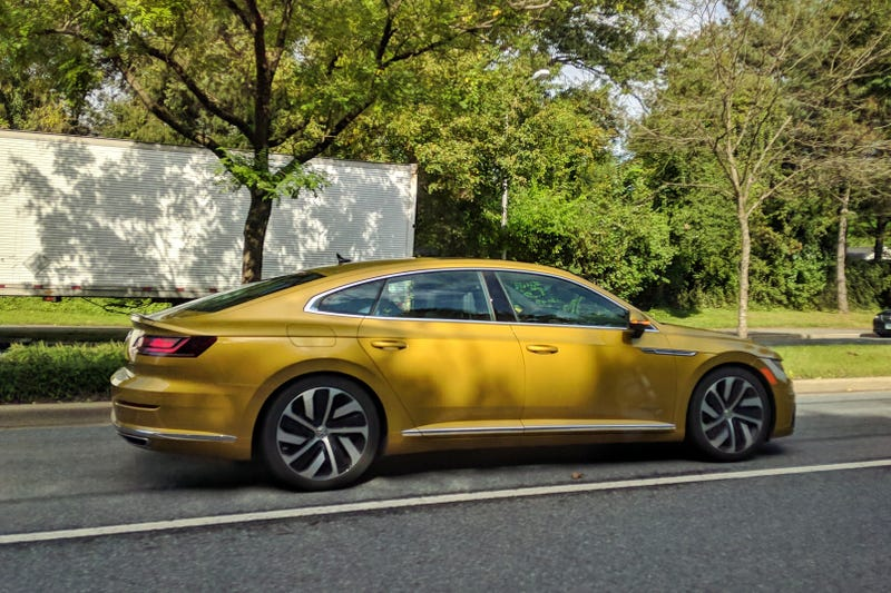 Illustration for article titled Did anyone else not know the VW Arteon is already on sale?