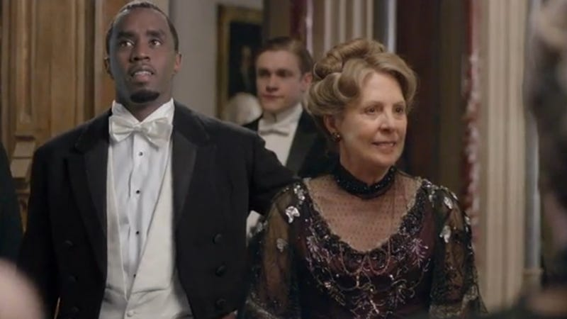 """Illustration for article titled Diddy Has Actually Been On """"Downtown"""" Abbey Since the Beginning"""