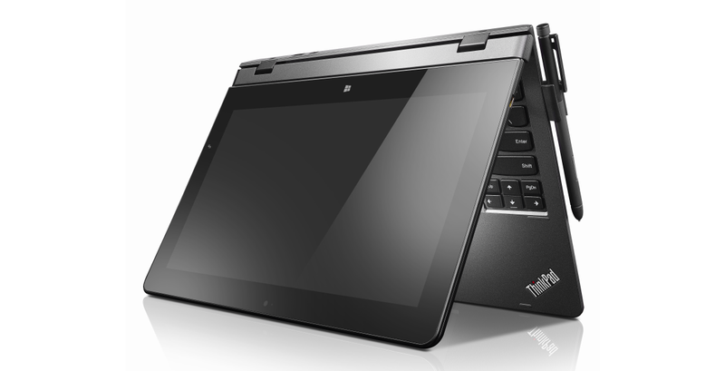 Illustration for article titled Lenovo Thinkpad Helix: un laptop completo en el tamaño de un iPad