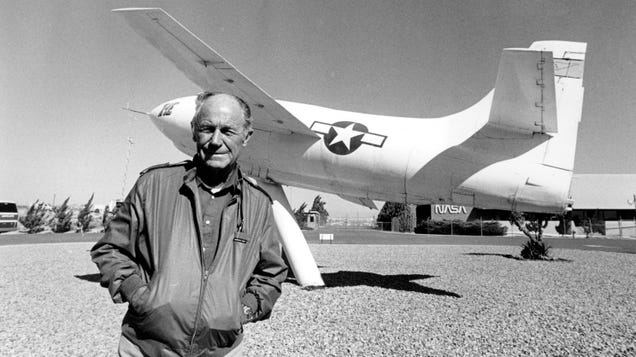 Chuck Yeager, First Faster-Than-Sound Pilot, Dies at 97