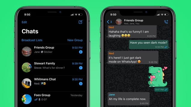 How to Enable WhatsApp s New Dark Mode on iOS and Android