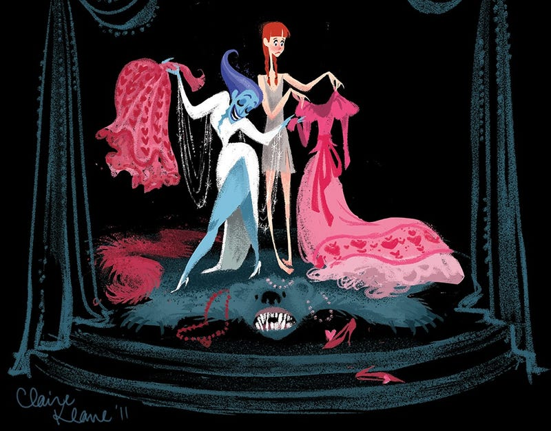Illustration for article titled Early Frozen concept art imagined a Snow Queen based on Bette Midler