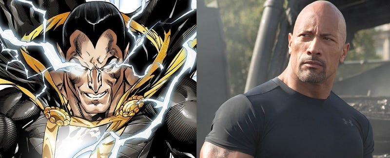 Illustration for article titled Black Adam será el próximo villano con su propia película en el universo de Batman v Superman