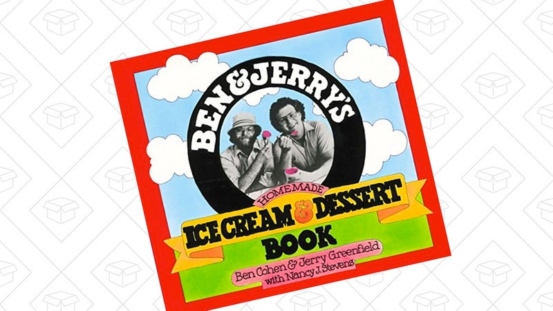 Ben & Jerry's Homemade Ice Cream & Dessert Book | $2 | Amazon