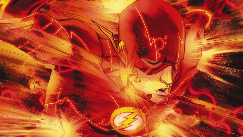 Illustration for article titled Barry Allen's Greatest Enemy Gets a Creepy Upgrade in The Flash #20