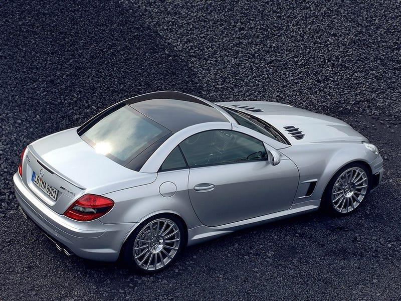 Illustration for article titled Remember when Mercedes made an SLK55 Black Series?