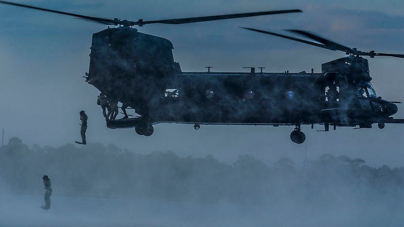 Illustration for article titled How to Jump Out of a Chinook in Style