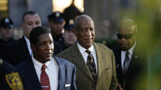 Comedian Bill Cosby leaving the Montgomery County Courthouse in Norristown, Pa., on Feb. 2 , 2016KENA BETANCUR/AFP/Getty Images