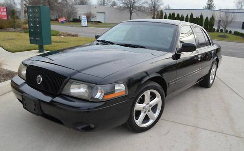 Illustration for article titled How About This Twin Turbo, Six-Speed 2003 Mercury Marauder For $14,900? (UPDATED)
