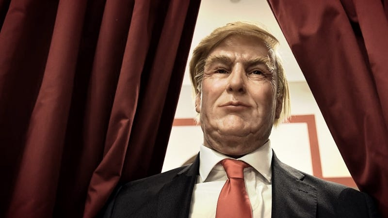 This wax figure seems more realistic. / Getty Images