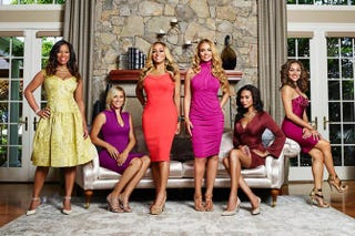 Cast of the Real Housewives of PotomacBravo