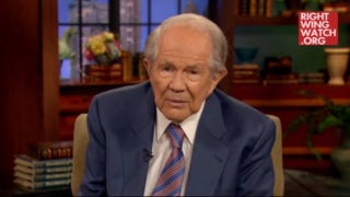 Illustration for article titled Pat Robertson: Porn and Doing 'Sex Things' Cause Demonic Possession