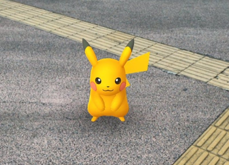 The Shiny Pikachu Released For Pokémon Go In Japan Is Subtle