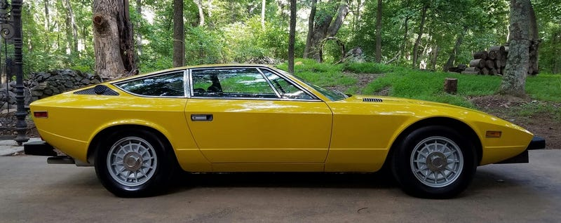 Illustration for article titled Let My Heart's Terror-Tears Stop And Buy This Maserati Khamsin So I Don't Have To