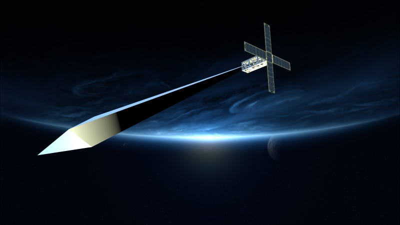 Artist's conception of the Orbital Reflector