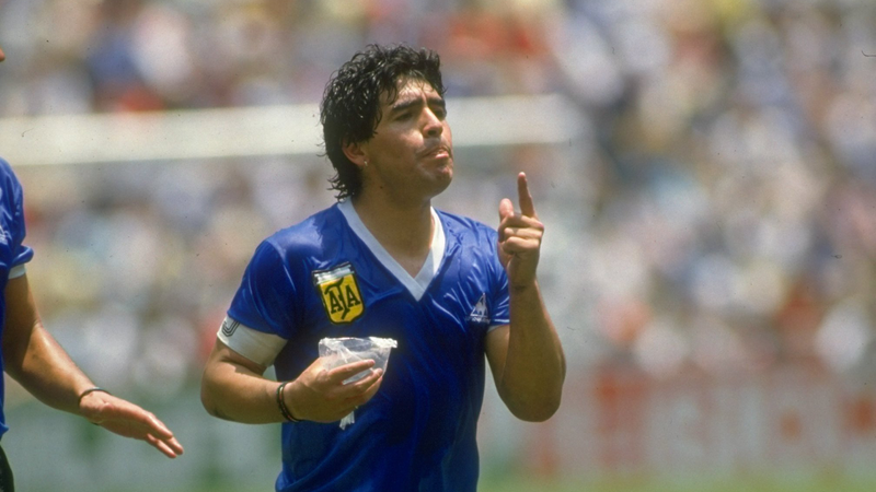 Illustration for article titled Everyone Named Their Kid After Maradona During The 1986 World Cup