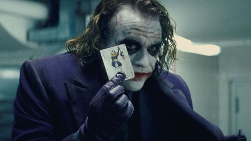 Illustration for article titled Behold, a Joker-only supercut from The Dark Knight