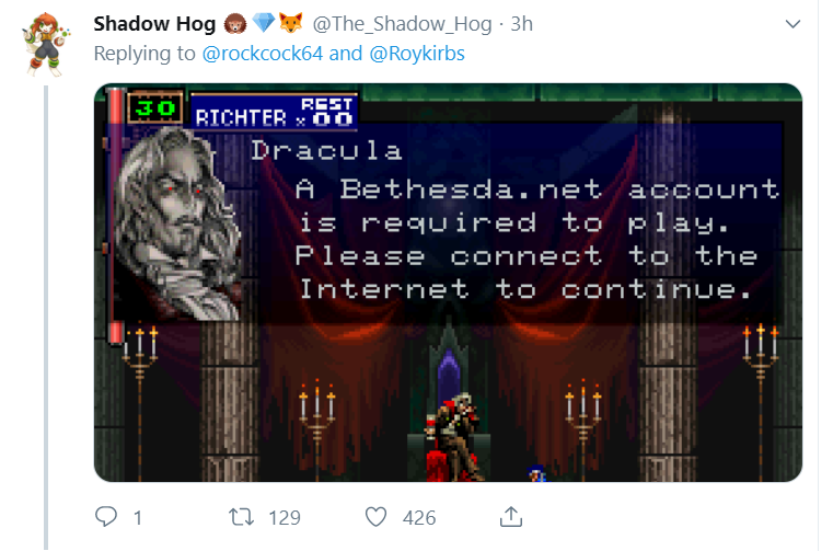 1993's Doom Requires A Bethesda Account To Play On Switch