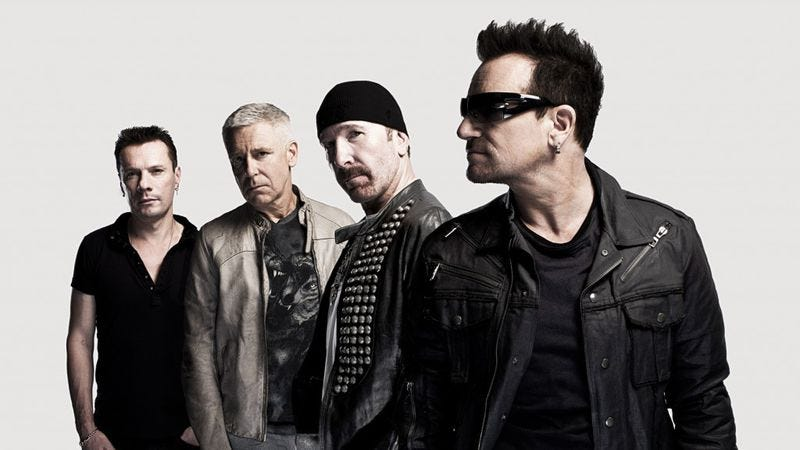 Illustration for article titled U2 is everywhere, including Podmass, but it's a good thing here