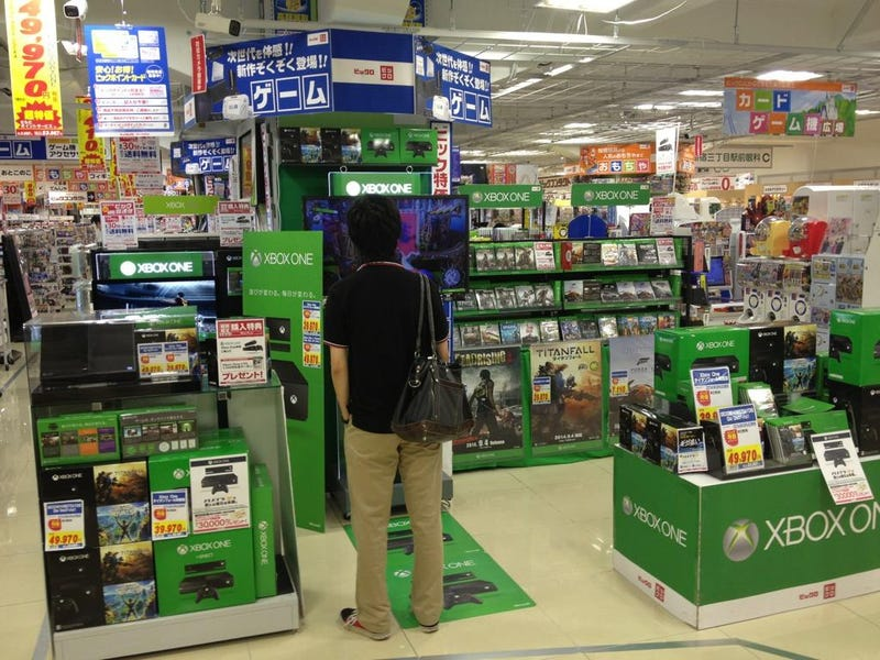 The Xbox One\u0027s First Week Sales in Japan Are Pretty Bad