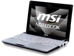 Illustration for article titled MSI U110, U115 Netbooks To Pack Draft-N Wi-Fi, Faster Processors