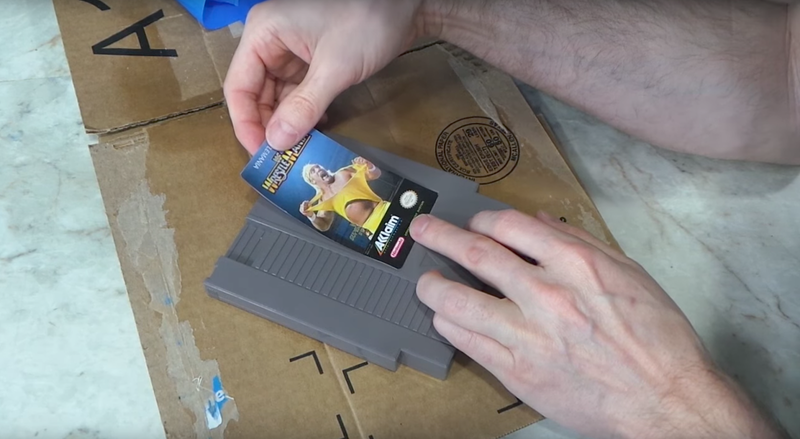 Illustration for article titled YouTube Video Sparks Debate About Relabeling Vintage Cartridges