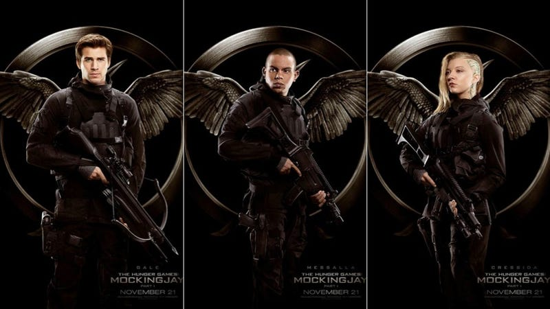 Illustration for article titled New Mockingjay Posters Show Off the Glorious Rebels of District 13