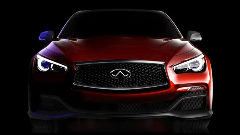 Illustration for article titled The Infiniti Q50 Eau Rouge Is An F1-Inspired Car With An Inspired Name