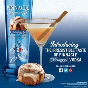 Illustration for article titled Your prayers have been answered: Cinnabon Flavored Vodka