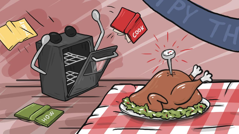 Illustration for article titled All The Food Safety Questions You'll Have On Thanksgiving Day, Answered