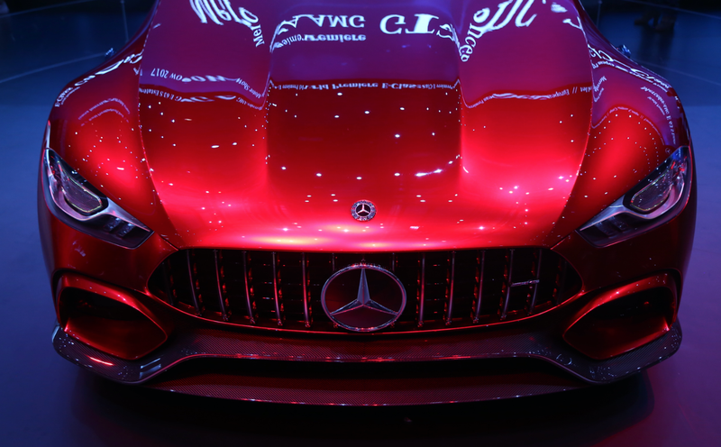 Illustration for article titled The Mercedes-AMG GT Concept Is An 805 HP Hybrid Reminder That No One Knows What 'Coupe' Means
