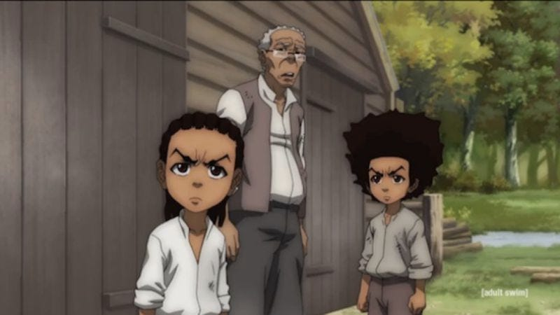 """Illustration for article titled The Boondocks: """"Freedomland"""""""