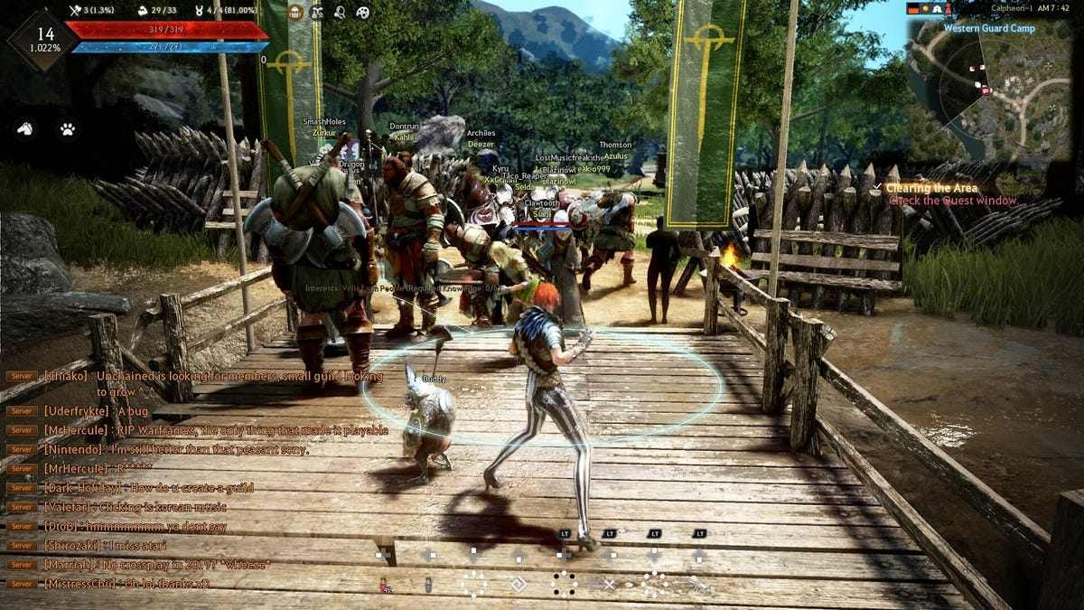 The Xbox One Version Of Black Desert Is Missing Three Years