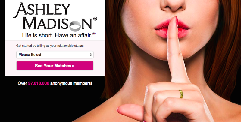 Illustration for article titled Hackers Grab 37 Million Profiles From Cheating Site Ashley Madison