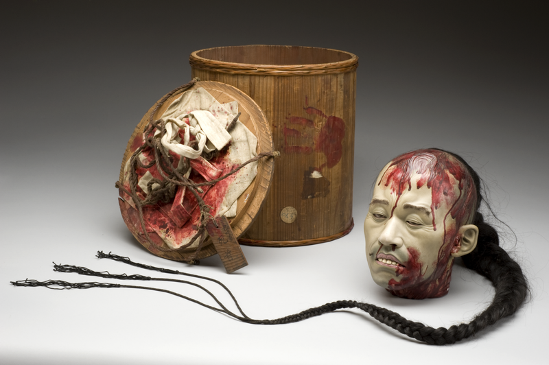 Illustration for article titled Who created this anatomically accurate model of a severed pirate head?