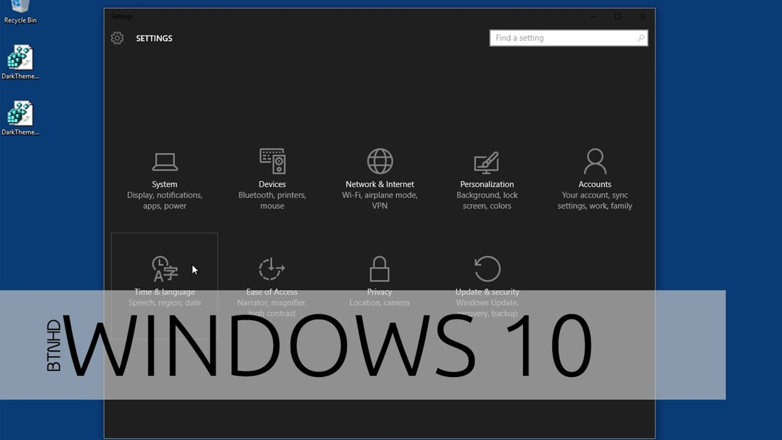 Enable a Hidden Dark Theme In Windows 10 Apps With a