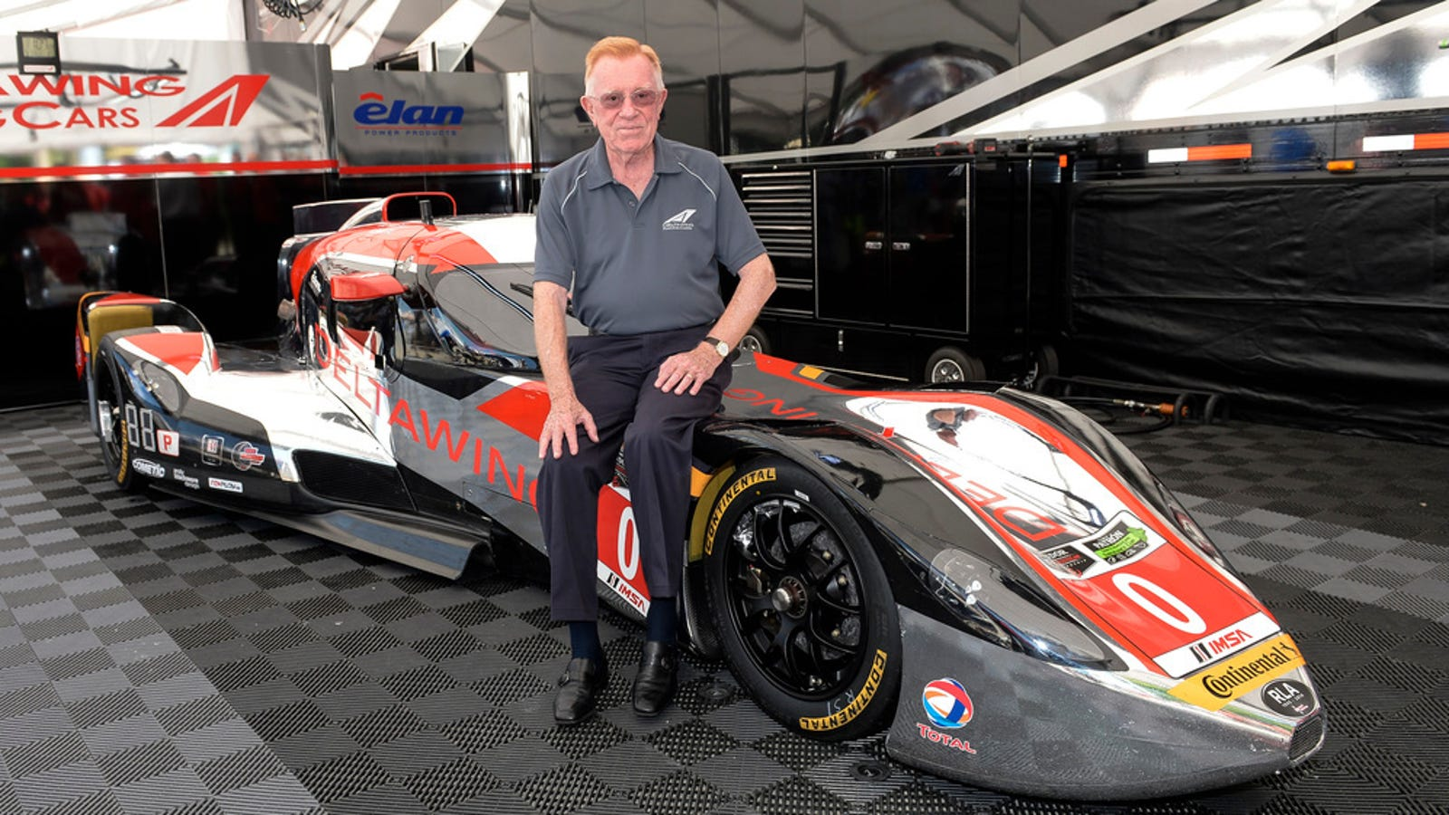 44 års racet Innovative Race Car Constructor And Motorsport Pioneer, Dr. Don  44 års racet
